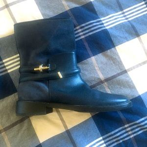 Balenciaga Leather and Suede Boots